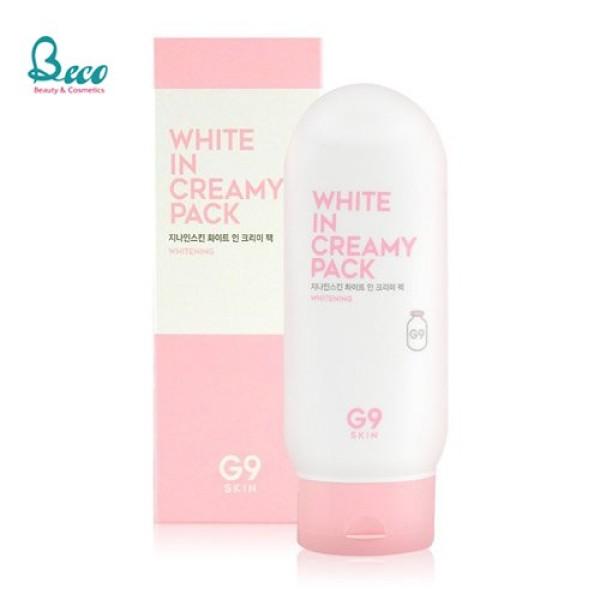 Kem Dưỡng Trắng, Mờ Thâm, Tàn Nhang G9Skin White In Whipping Cream 50g [Mọi Loại Da, Da Dầu] Frorence86 Store