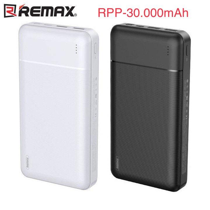 [HCM]Pin Sạc Dự Phòng 30.000mah Remax RPP-167 Lango Series Fast Charing 2.1A Tích Hợp 2 Cổng USB - RPP-167