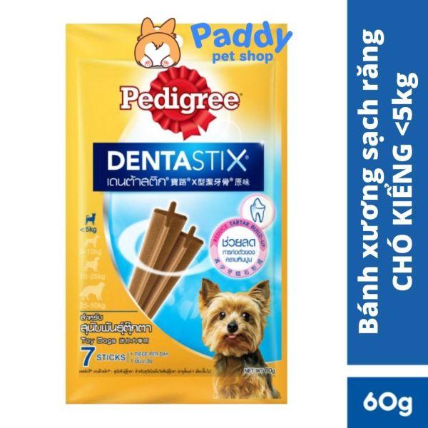 Bánh Xương Sạch Răng Cho Chó Kiểng <5kg Pedigree Dentastix (60g)