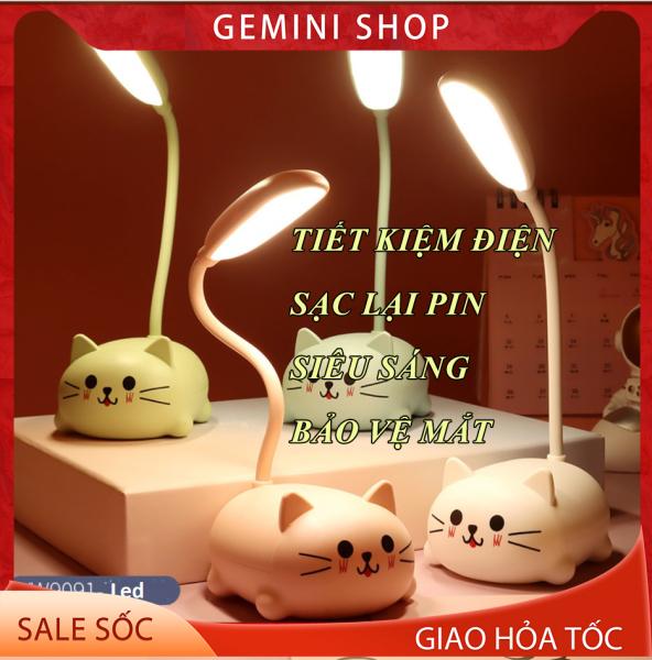 Đèn ngủ kiêm đèn học pin sạc đa năng dễ thương YW909
