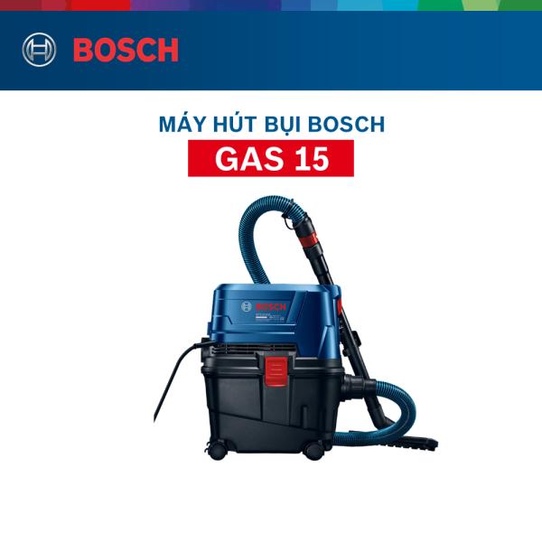 [Trả góp 0%] Máy hút bụi Bosch GAS 15 MỚI