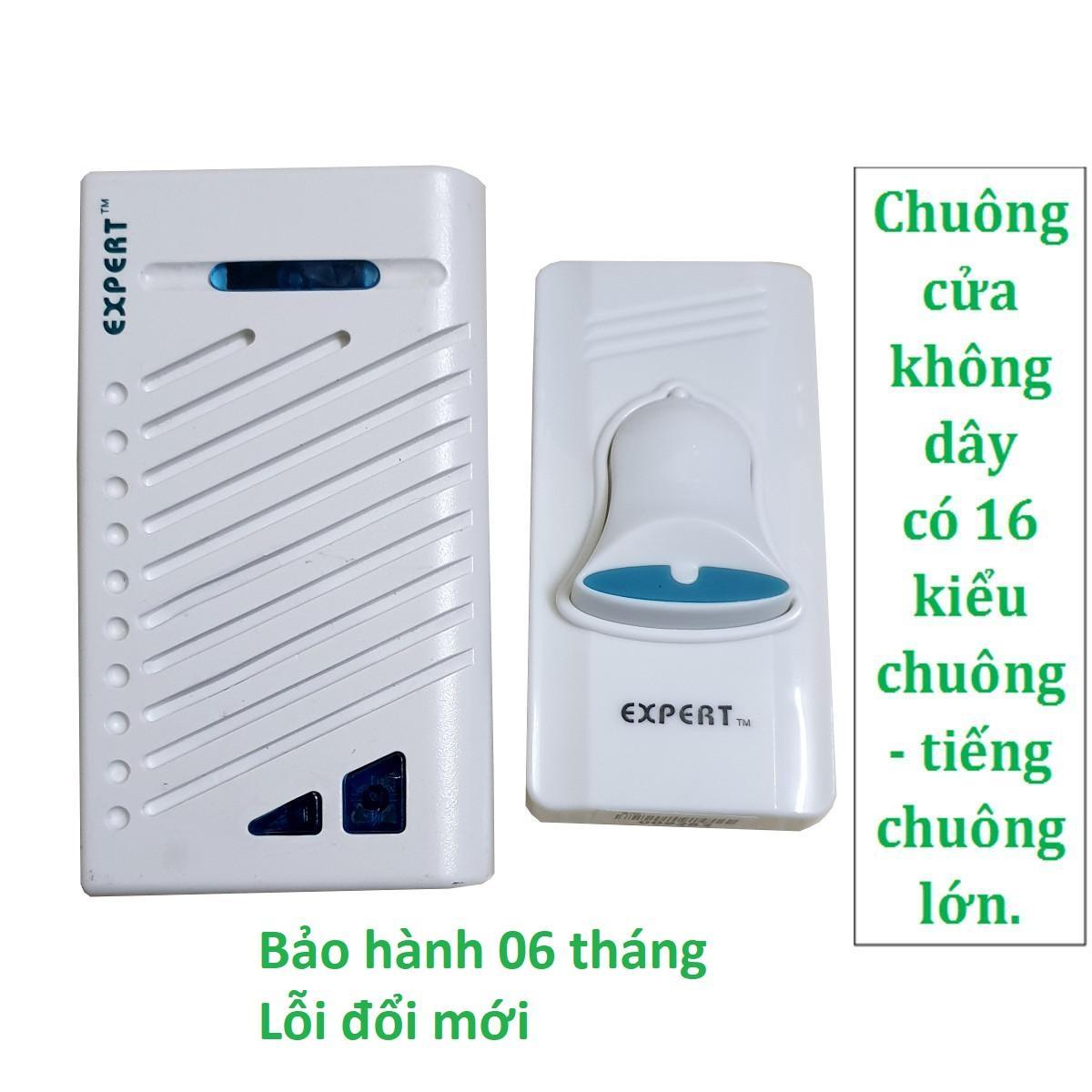 Bộ chuông cửa không dây Expert E-72A07