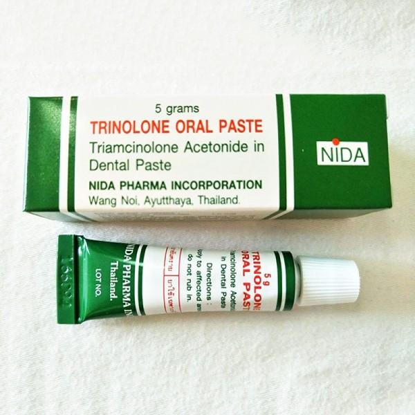 Kem Bôi Nhiệt Miệng TRINOLONE ORAL PASTE