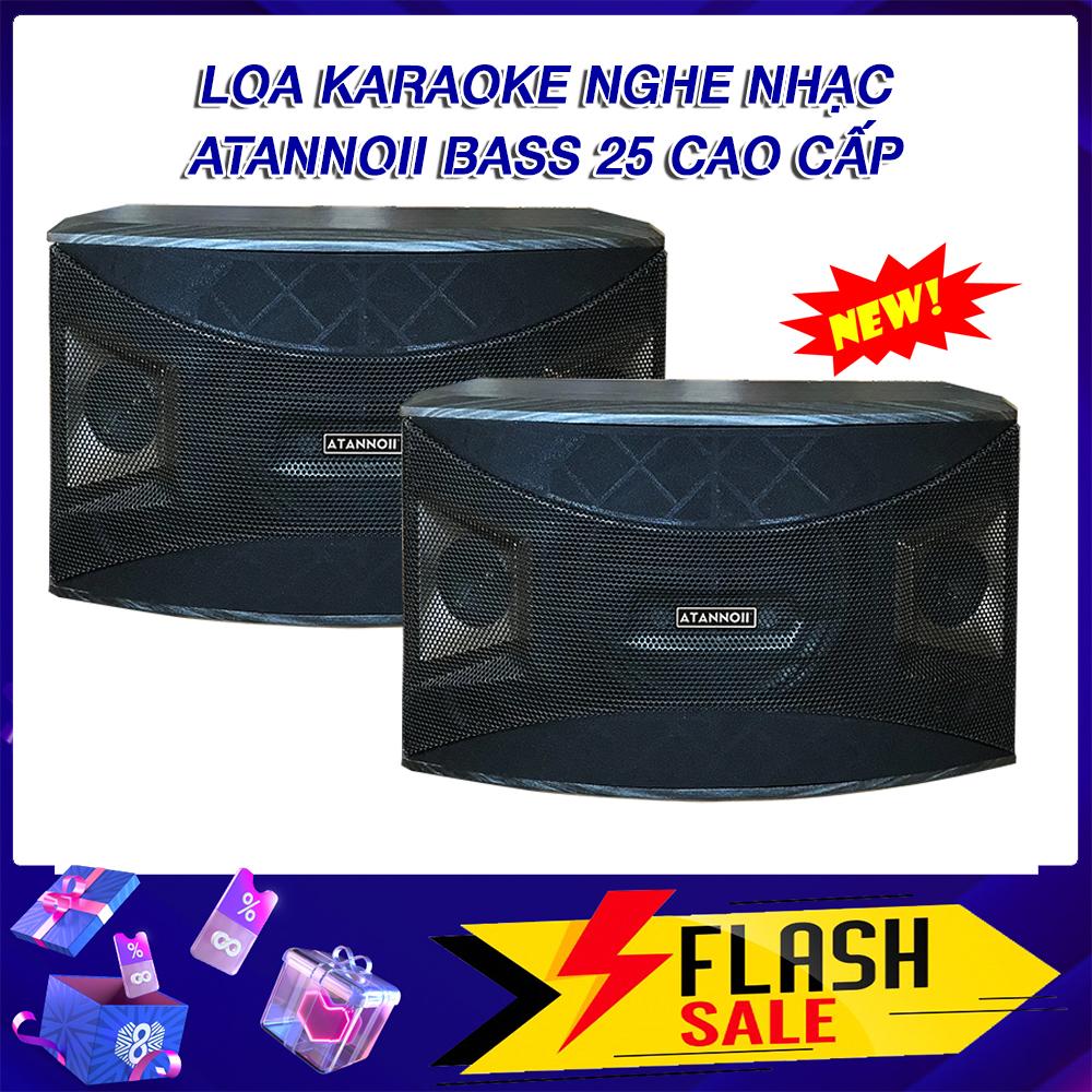 Loa Karaoke Nghe Nhạc, Loa treo tường ATANNOII Pro-910 bass 2.5 tấc cực hay dùng cho dà karaoke gia đình, kết hợp tốt với nhiều amply.