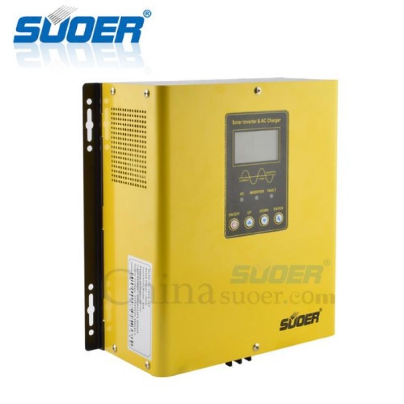 Bảng giá Inverter Hybrid SUOER 24V 220V 3KVA Sin Chuẩn – PS-3K-24 Phong Vũ