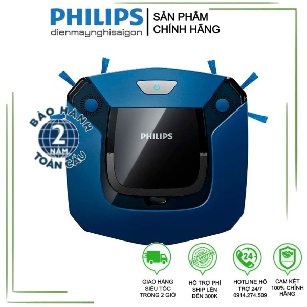 Robot hút bụi thông minh Philips FC8792 - Hàng chính hãng