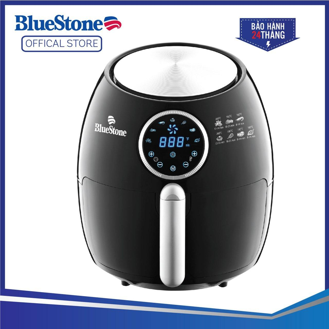 Nồi chiên không dầu Bluestone AFB-5873 (5.5 Lít) - Điều khiển điện tử - Công nghệ chiên nướng đối lưu...