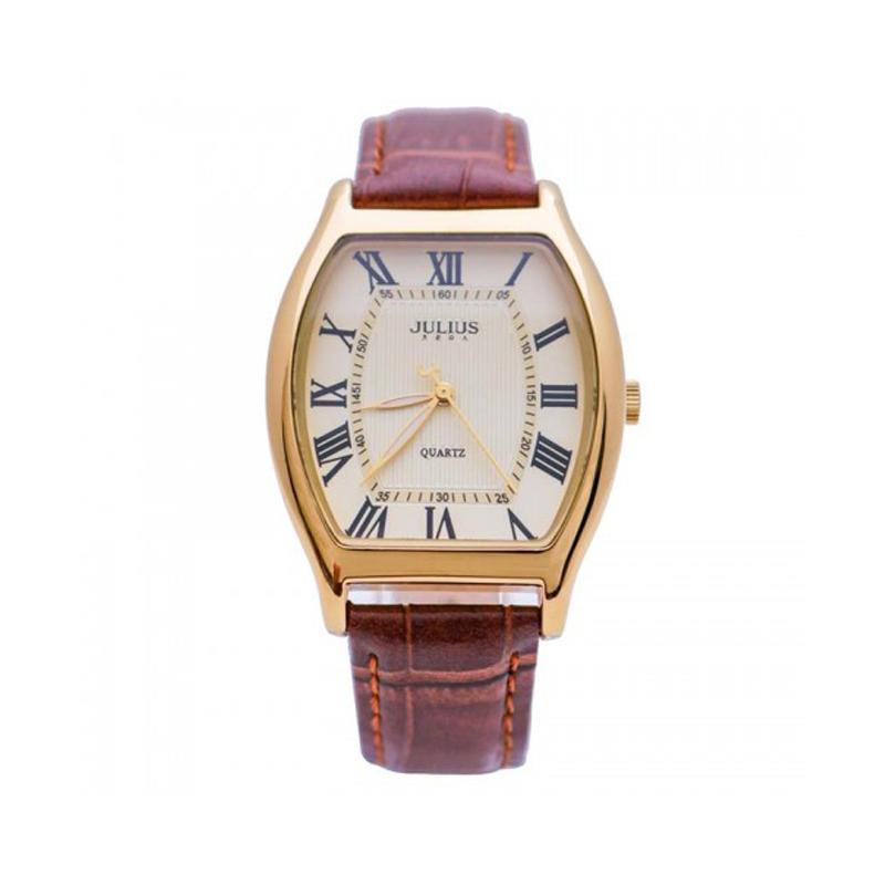 Đồng hồ nữ Julius Hàn Quốc JA-703 cổ điển dây da