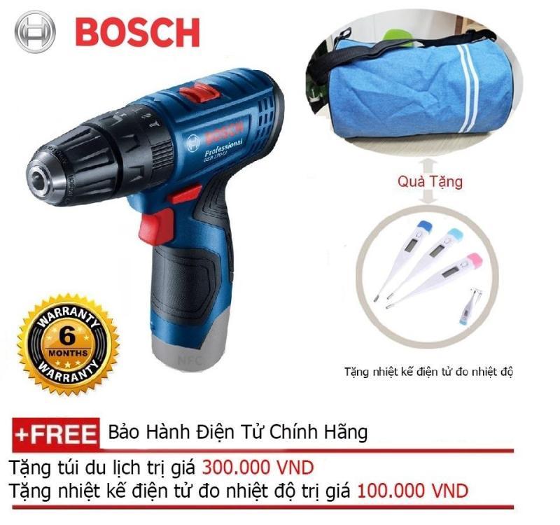 Máy khoan pin Bosch GSB 120-LI GEN II + Quà tặng balo du lịch