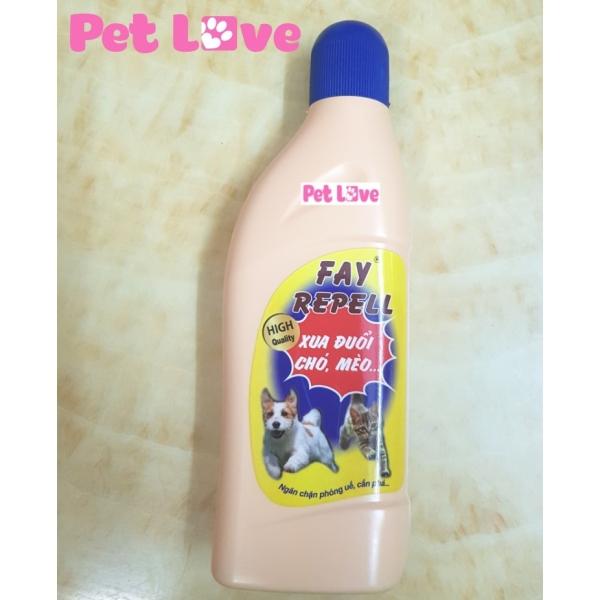 Fay Repell ngăn chó mèo phóng uế, cắn phá đồ đạc, khử mùi hôi