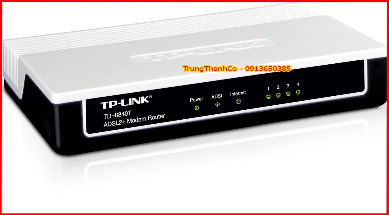 Giá (F) Modem Router TP-Link TD-8840T 4 Port