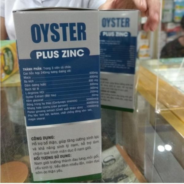COMBO 10 HỘP OYSTER PLUS ZINC cao cấp