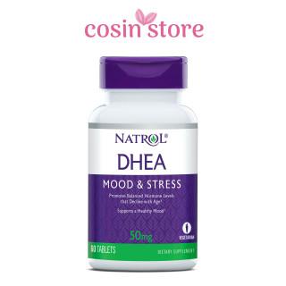 Viên uống Natrol DHEA Mood & Stress 50mg 60 viên - Cân bằng nội tiết tố cho phụ nữ thumbnail