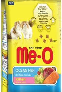 Hanpet- Túi 400g Thức ăn hạt khô dành cho mèo con hương vị cá biển - Me-o Ocean Fish thumbnail