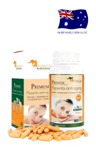 (Chính Hãng) Viên nhau thai cừu Premium Placenta Anti-Aging 120v thumbnail