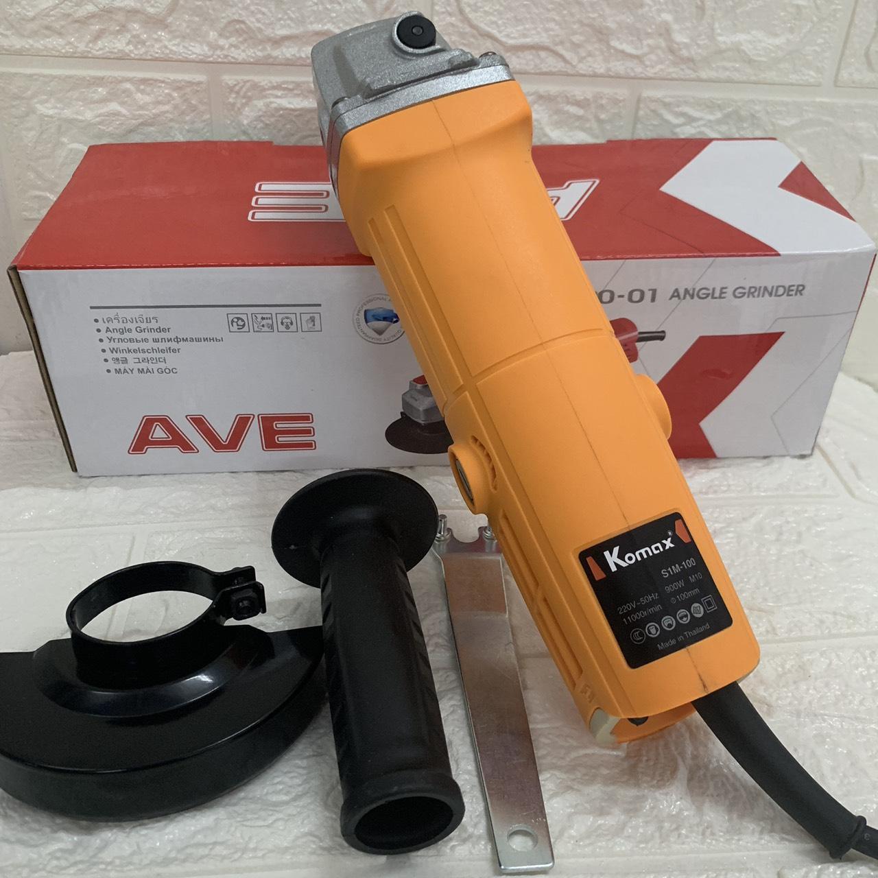 máy cắt góc 1 tấc KOMAX thái lan - máy mài cầm tay công suất 900w dây đồng bảo hành 12 tháng