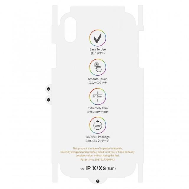 Giá Miếng dán lưng PPF 7 sắc cầu vồng chống va đập, tự phục hồi vết xước cho iPhone 7 / 8 / 7 Plus / 8 Plus / X / Xs / Xs Max / 11 / 11 Pro / 11 Pro Max