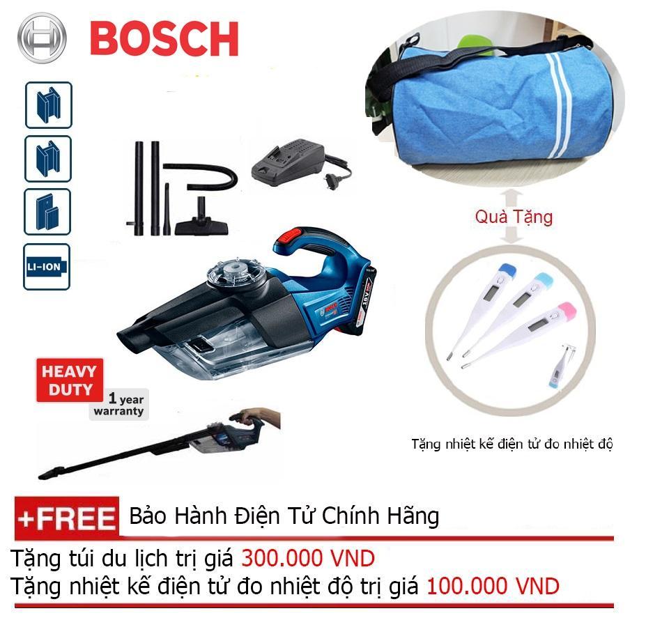 Máy hút bụi Bosch GAS 18V-1LI SET Mới + Quà tặng balo du lịch