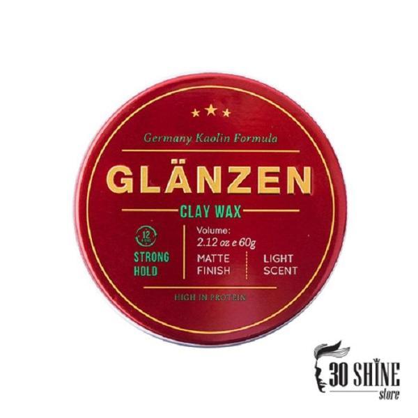 Sáp Vuốt Tóc Glanzen Clay Wax Chính Hãng 30Shine 60g giá rẻ