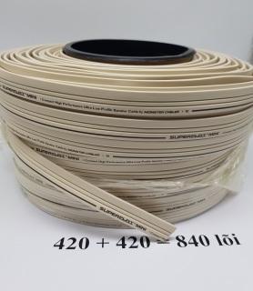 12 mét Dây loa Monster SUPERFLAT MINI 2 lõi 840 sợi - mỗi lõi 3.52mm đồng nguyên chất thumbnail