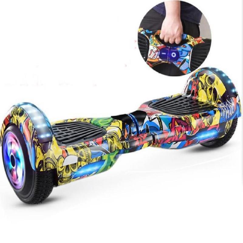 Mua xe điện cân bằng - xe tự cân bằng điện, bánh xe 6.5 inch phát sáng, nghe nhạc bluetooth