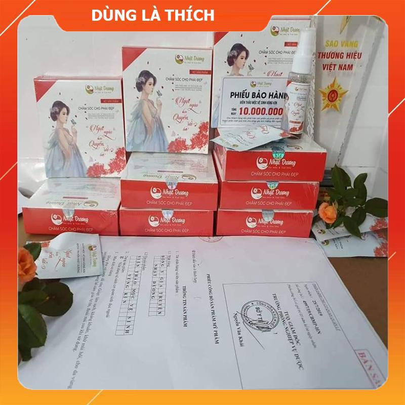 Sản phẩm thảo dược hỗ trợ chữa trị viêm nhiễm phụ khoa Nhật Dương - Đông Y Gia truyền Nhật Dương