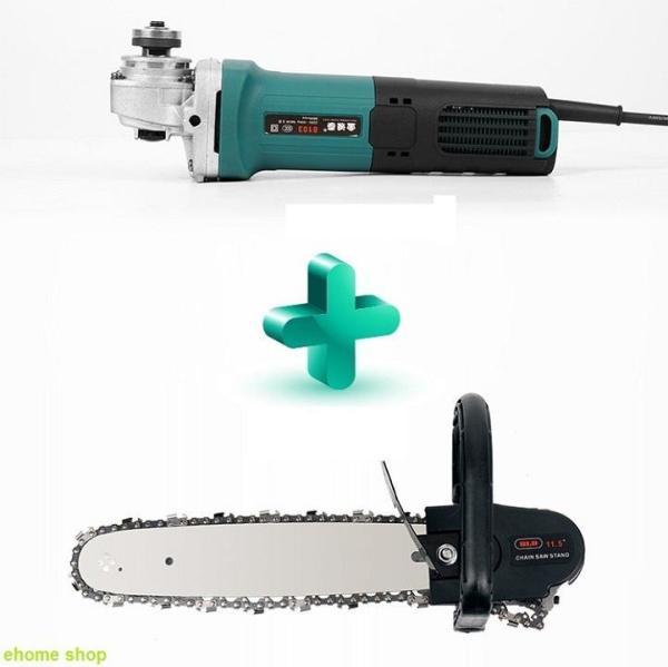 Bộ lam xích lưỡi cưa gắn máy mài chain saw trục 10 mm - Bảo hành 10 tháng