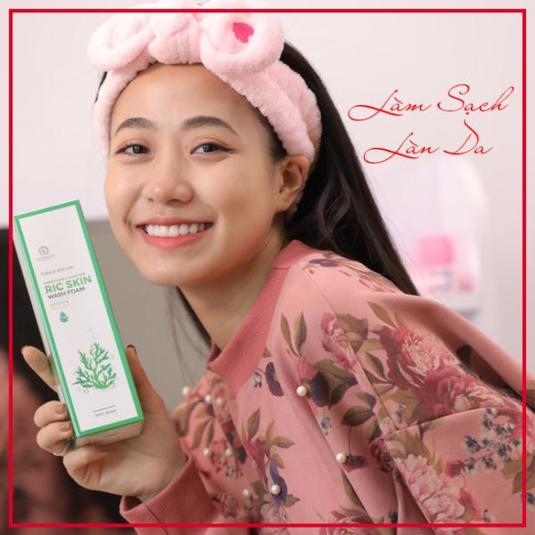 Sữa rửa mặt Ric skin wash foam Kohinoor RS-SRM, sạch sâu, nuôi dưỡng da khỏe đẹp tốt nhất