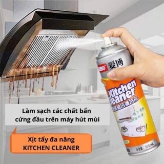 [ĐƠN TRÊN 49k HỖ TRỢ 20k SHIP] Chai Xịt Tẩy Bếp Đa Năng Kitchen Cleaner 500ml, Chai Xịt Tẩy Rửa Nhà Bếp Đa Năng thumbnail