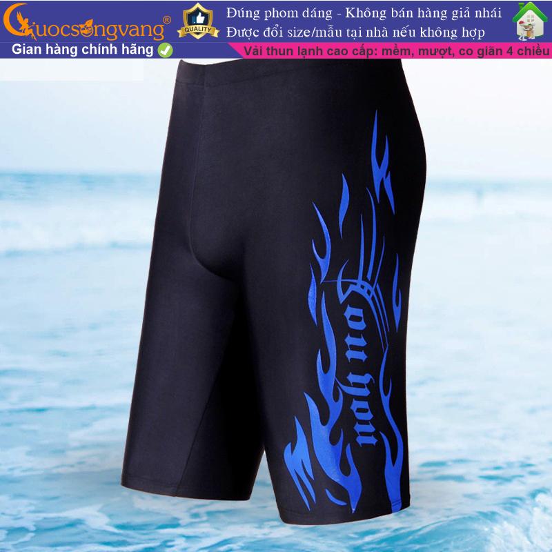Nơi bán Quần đi biển nam kiểu ôm hai lớp đẹp quần bơi nam nâng mông GLSWIM010 Cuocsongvang