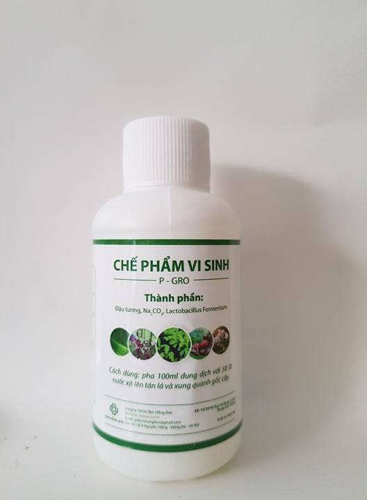 Chế phẩm vi sinh đậu tương chai 100ml