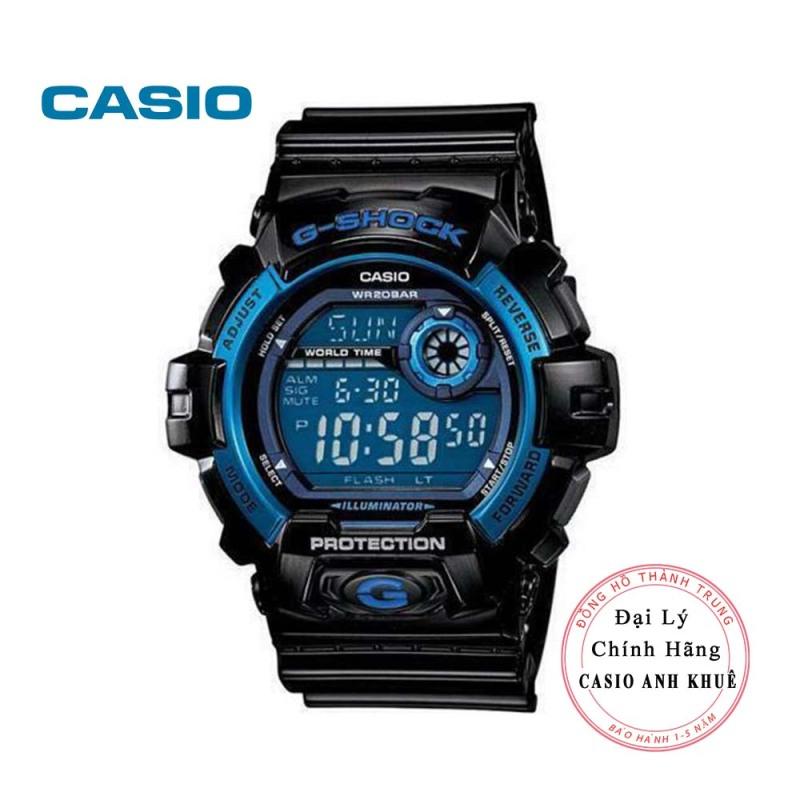 Đồng hồ nam Casio Gshock G-8900A-1DR dây nhựa