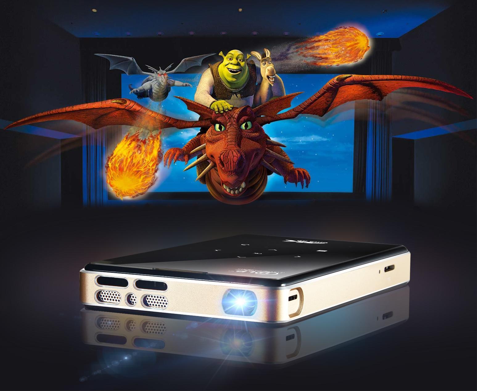 Mã Khuyến Mãi Máy Chiếu Thông Minh Smart Projectors 4K TEXAS P09 USA