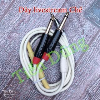 Dây livestream chế cho các dòng máy Âm li , vang, icon upod pro , mixer f4 và f7 thumbnail