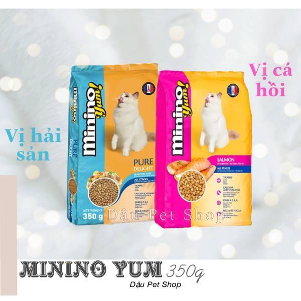 Minino Yum hạt thức ăn cho mèo 350g