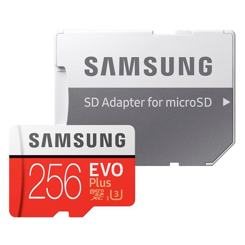 Thẻ nhớ MicroSD Samsung EVO Plus 4K 256GB 100MB/s 256GB Box Hoa - Hàng Chính Hãng