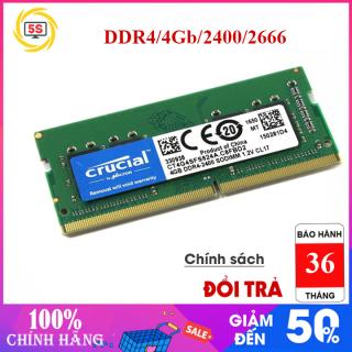 Ram Laptop Crucial DDr4 4Gb,8Gb 2400 2600-New 100%, Nguyên Seal,Bảo Hành 3 năm thumbnail
