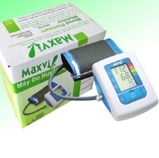 Máy đo huyết áp bắp tay Maxvi XJ-2002DS (Trắng) thumbnail