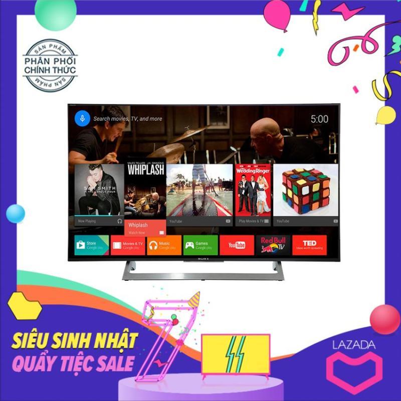 Bảng giá Smart TV Led Sony 49inch 4K UHD - Model 49X8000E (Đen)