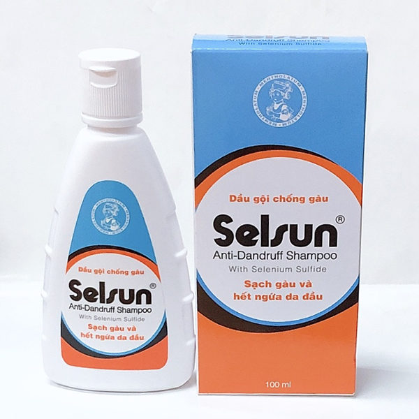 Dầu gội chống gàu Selsun 100ml và 50ml - Sạch gàu và hết ngứa da đầu giá rẻ