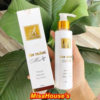 Tắm trắng body mềm A Cosmetics giúp dưỡng trắng da toàn thân - Đánh bay làn da tối màu thumbnail