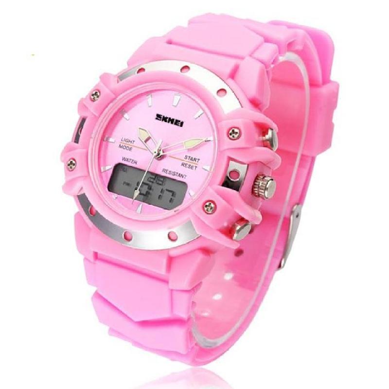Đồng hồ điện tử thời trang bé gái Skmei 0821 chống nước siêu bền(Cập nhật 2019) bán chạy