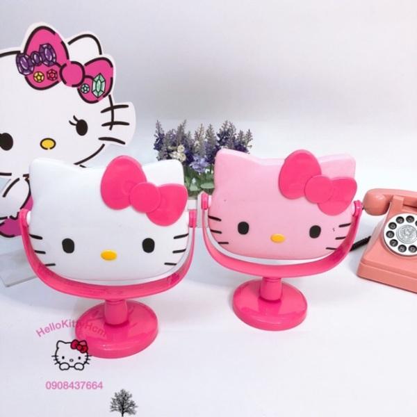 Gương Bàn Đầu Mèo Hello Kitty giá rẻ