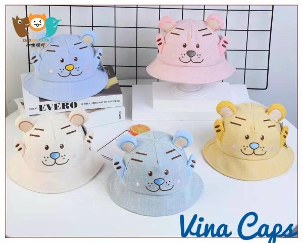 Giá bán Nón em bé, nón cho bé Cute vải Nhung HÌNH THÚ mềm êm cực đẹp