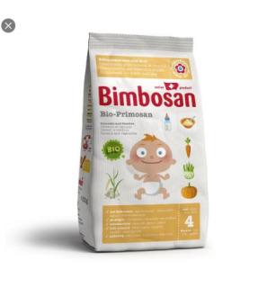 Bột ăn dặm rau củ hữu cơ Primosan Bimbosan 300g cho bé từ 4 tháng tuổi thumbnail