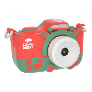 Máy ảnh CLEVER HIPPO TOY - Máy chụp hình với ốp chống sốc - Tuần lộc tinh nghịch - MÃ SP XM YT006 thumbnail