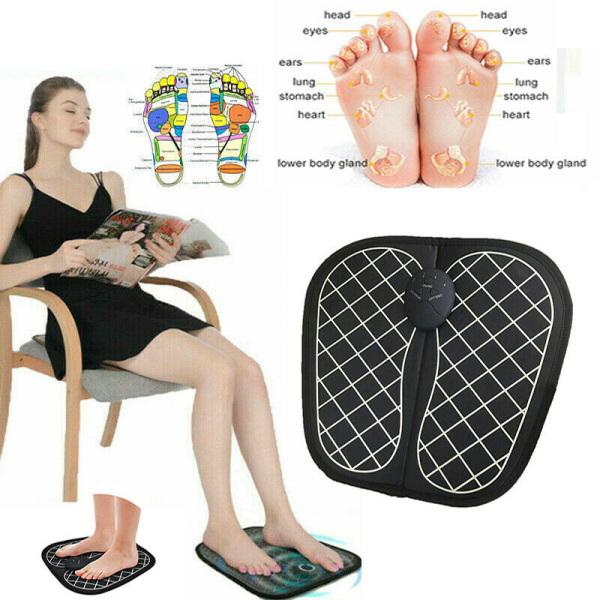 Massage chân gần đây,Cách massage chân chữa bệnh,Dụng Cụ Massage Chân Ems 34cm (Sạc) lưu thông khi huyêt,đa thông kì kinh bát mạnh hỗ trợ phục hồi trức năng cao cấp.(GIÁ SỐC)
