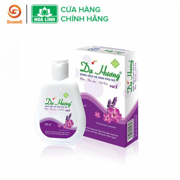 Dung dịch vệ sinh phụ nữ Dạ Hương Lavender dạng chai, làm sạch, khử mùi, dưỡng da, chống khô rát -DH1 nhập khẩu