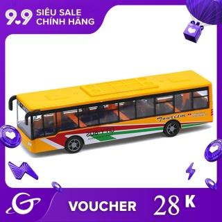 Đồ chơi xe Buýt kéo dài mini cho trẻ (có nhiều màu khác nhau) Dece Flor - INTL thumbnail
