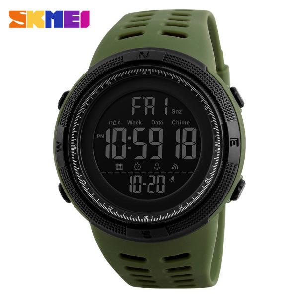 Nơi bán Đồng hồ đeo tay nam SKMEI 1251 chống nước 50M màn hình dạ quang, có chức năng đếm ngược